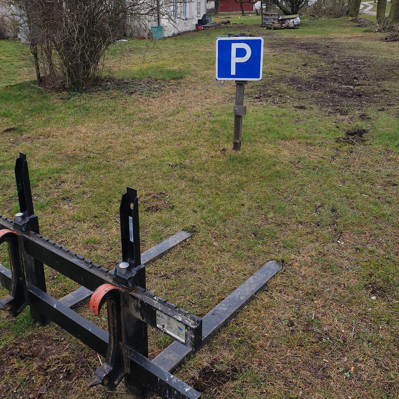 pallgaffelparkering